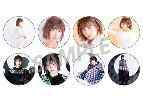"TAKETATSU AYANA LIVE HOUSE TOUR 2019 ""A"" -Analyze-/-Another- Badge (8 types random)"