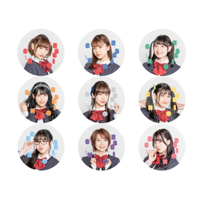 "Revue Starlight Band Live""Starry Session"" Badge (9 types random)"