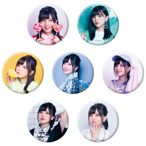 "Kito Akari 1st LIVE TOUR ""Colorful Closet"" Badge (7 types random) No.1"