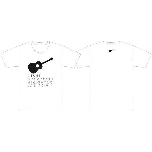 Oishi Masayoshi Sing with a Guitar LAB LIVE TOUR 2019 T-shirt WHITE XL