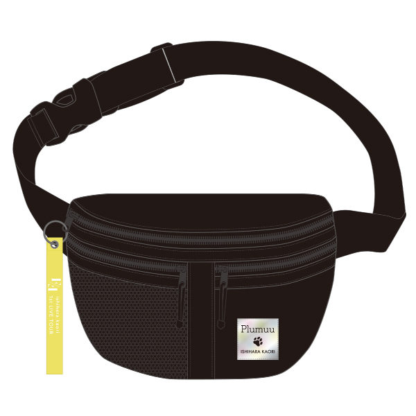 "Ishihara Kaori 1st LIVE TOUR ""Face to FACE"" Waist Pouch"