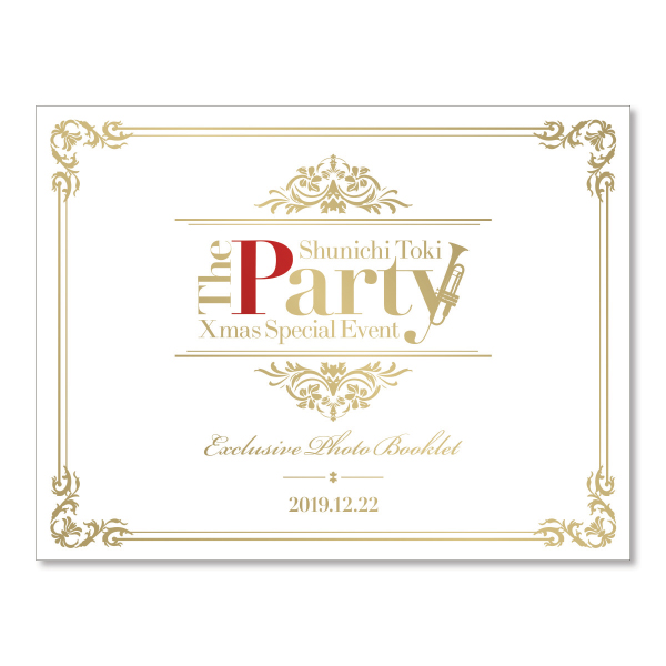 "Toki Shunichi  Xmas Special Event ""The Party"" Pamphlet"