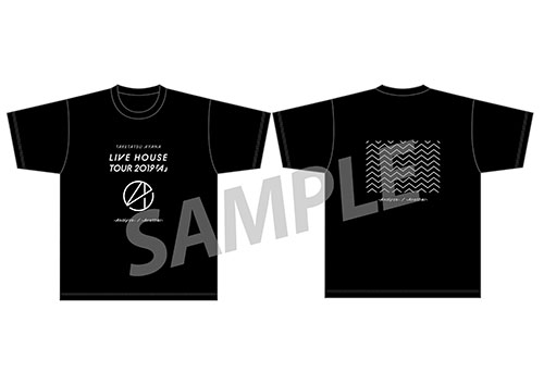 "TAKETATSU AYANA LIVE HOUSE TOUR 2019 ""A"" -Analyze-/-Another- Big Silhouette T-shirt Size Free"