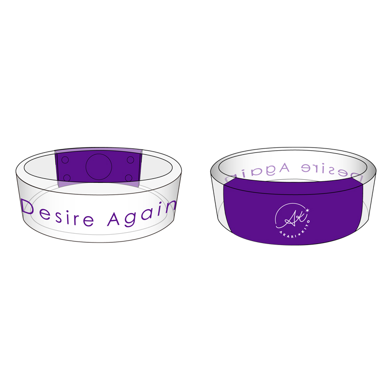 "Kito Akari ""Desire Again"" Release Event Acrylic Bangle Light No.1"