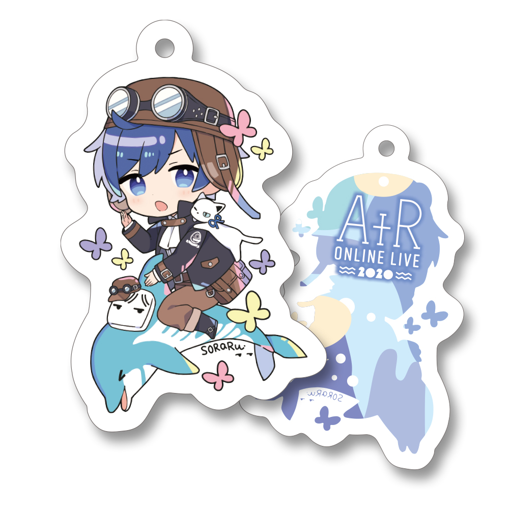 After the Rain Acrylic Key Chain soraru