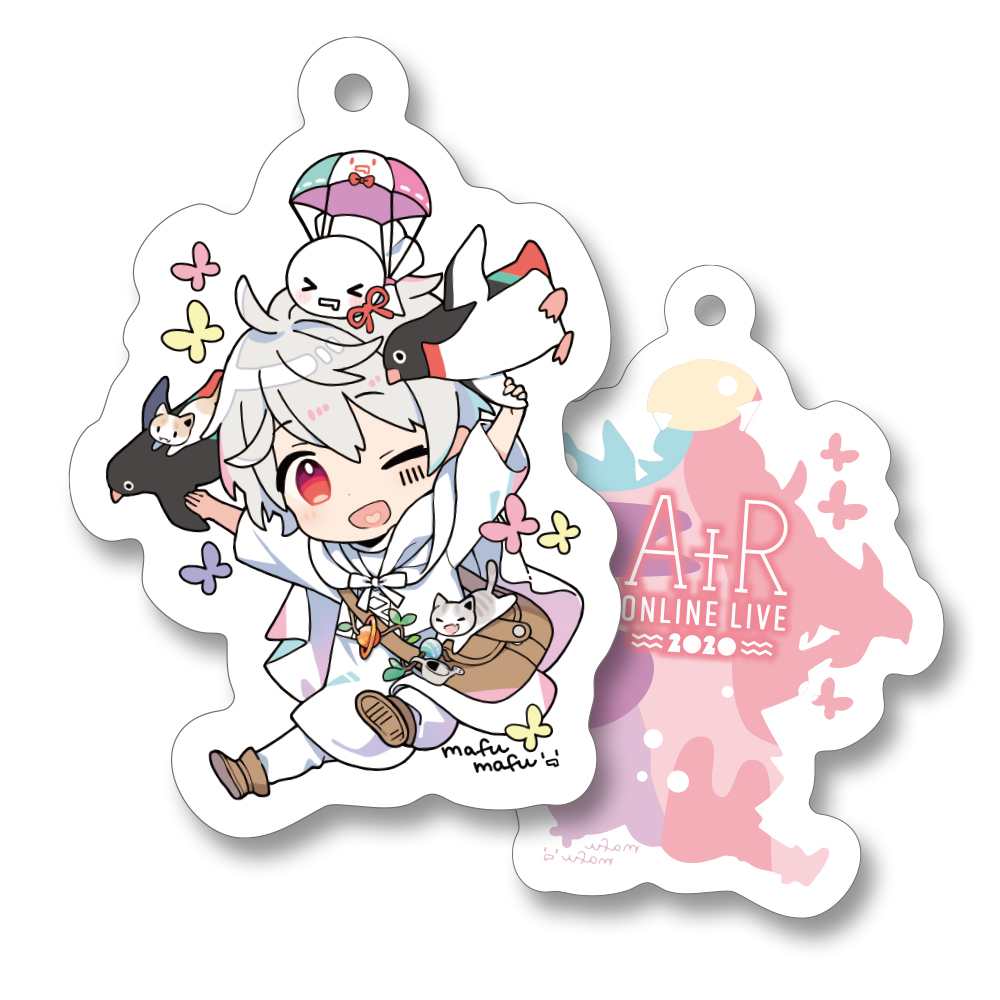 After the Rain Acrylic Key Chain mafumafu