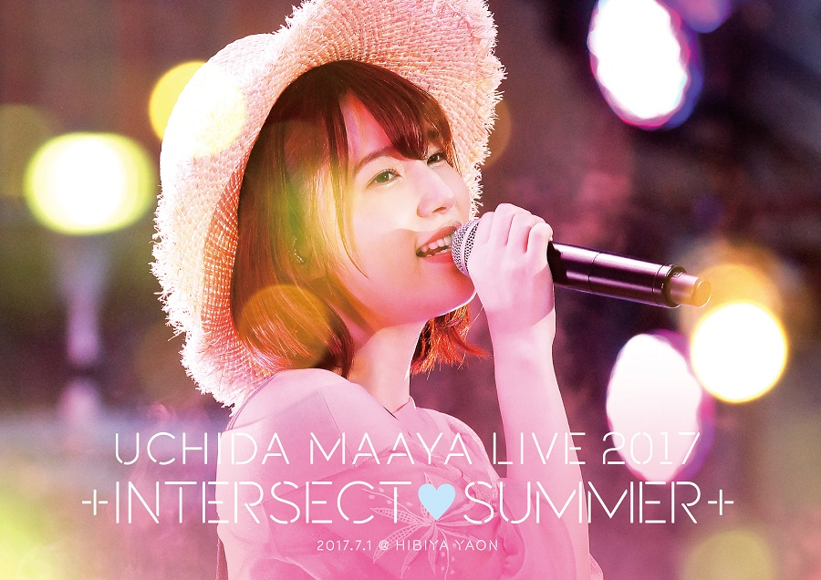 "UCHIDA MAAYA LIVE 2017 ""+INTERSECT♥SUMMER+"" DVD"
