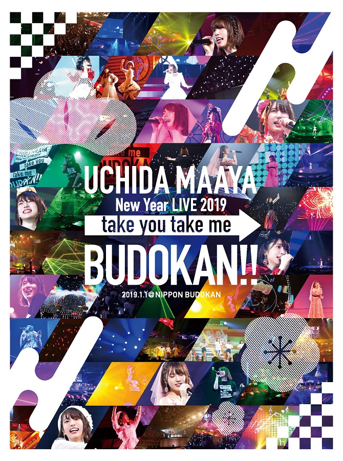 "UCHIDA MAAYA New Year LIVE 2019  ""take you take me BUDOKAN!!"" DVD"