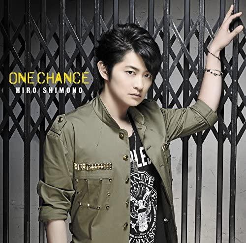 "Shimono Hiro Single ""ONE CHANCE"" Limited Edition B (CD+DVD)"