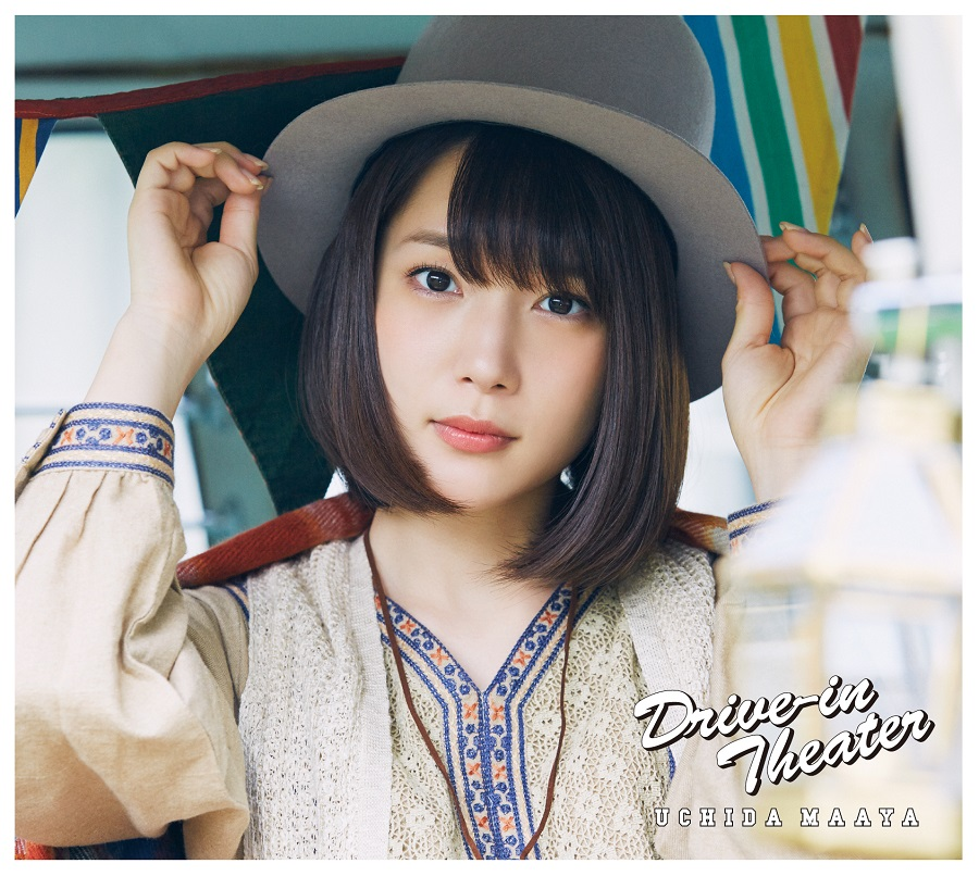 "Uchida Maaya 1st mini Album ""Drive - in Theater"" Limited Edition (CD+DVD+PHOTOBOOK)"