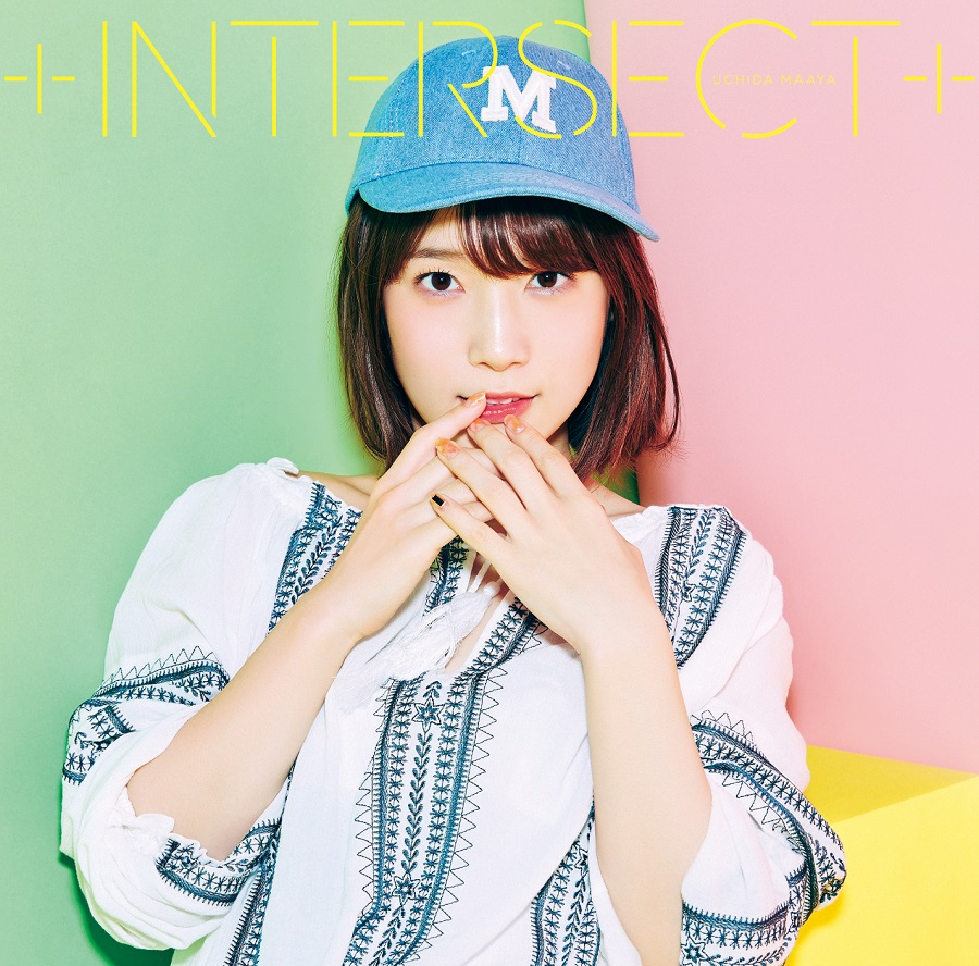 "Uchida Maaya 5th single  ""+ INTERSECT +"" Limited Edition (CD+DVD)"