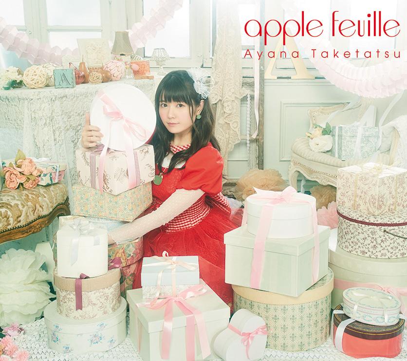Taketatsu Ayana Album apple feuille Completed Edition (CD+BD)