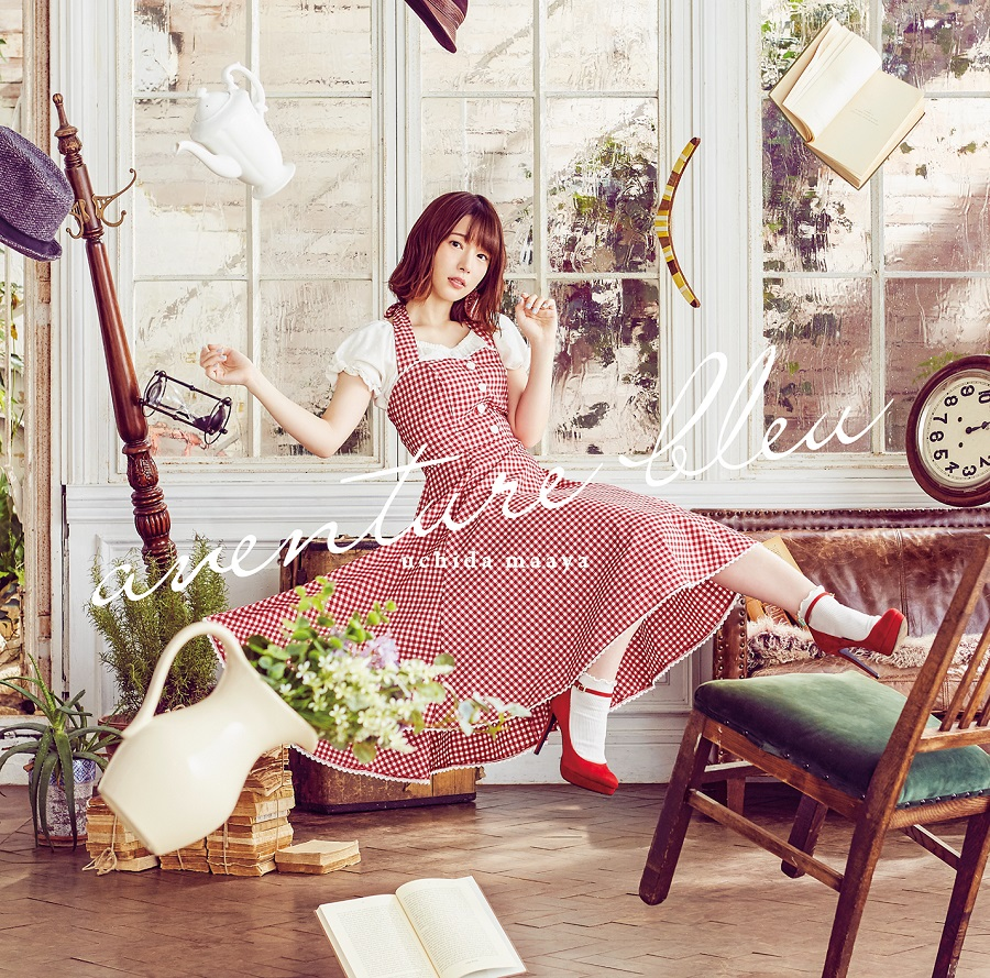"Uchida Maaya 7th single  ""aventure bleu"" Limited Edition (CD+DVD)"