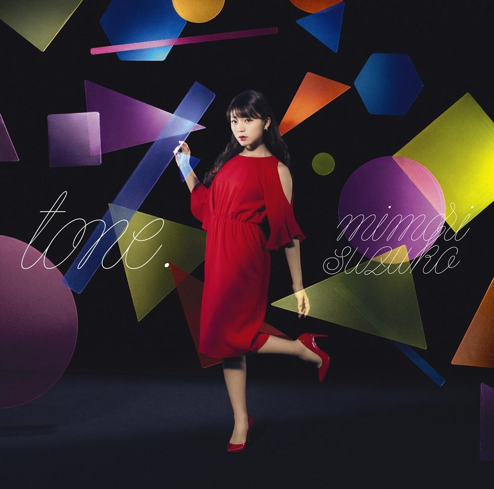 """Mimori Suzuko 4th Album  """"tone."""" Limited Edition (CD+DVD+PHOTOBOOK)"""