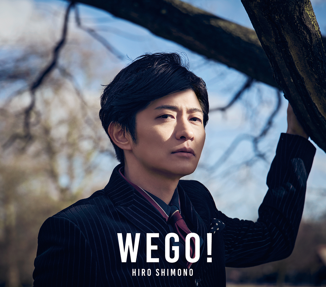 "Shimono Hiro  1st Album ""WE GO!"" Limited Edition (CD+DVD) No.1"
