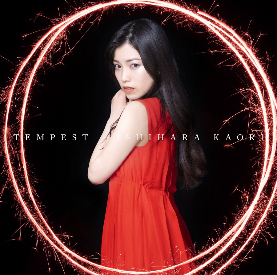 """Ishihara Kaori 3rd Single """"TEMPEST"""" Normal Edition (CD only)"""