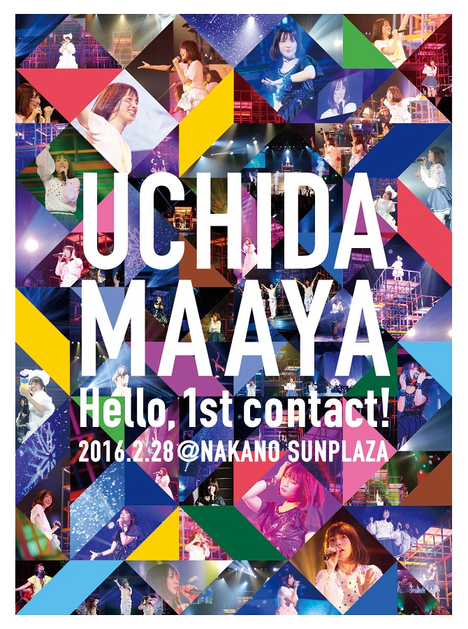 "UCHIDA MAAYA 1st LIVE ""Hello,1st contact!"" Blu-ray (BD)"