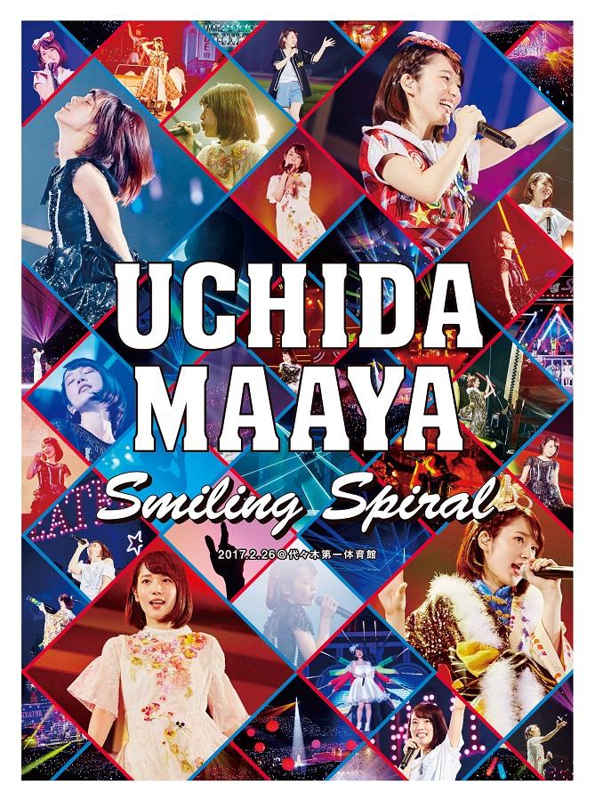 "UCHIDA MAAYA 2nd LIVE ""Smiling Spiral"" Blu-ray (BD)"