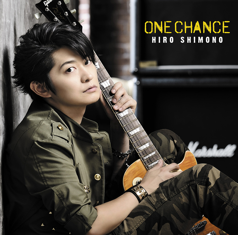 "【canime limited version】Shimono Hiro Single ""ONE CHANCE"" (CD)"