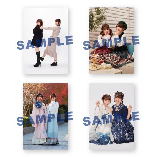 【2nd Pre-order】Yunoraji Photos Set C (2 shot) Release in 210324